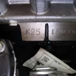 Nissan K25- Silnik produkowany w 100 % w Japonii