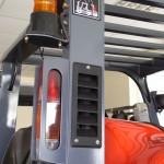 Górny zaciąg powietrza wydłuża trwałośc filtra powietrza i pomaga utrzymać niskie zużycie paliwa