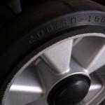 Duże koła aluminiowe z bieżną gumową o śrenicy 200 mm