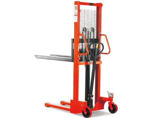 Ręczny wózek magazynowy z masztem 1000 kg maszty 1,6m; 2,5m; 3,0m