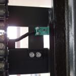 Czujnik położenia masztu (zabezpiecza przed jazdą z duza szybkością z podniesionym masztem)