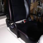 CT POWER FG25 fotel z przeszyciami