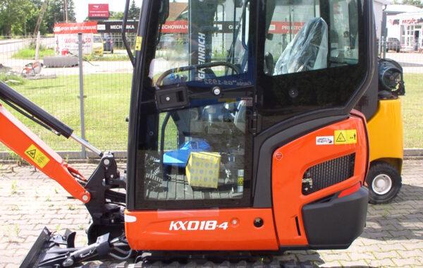Fabrycznie nowa mini koparka KUBOTA KX018-4