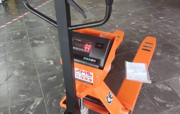 Wózek paletowy CBY25-SC 2500 kg z waga